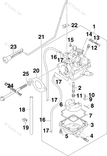 Johnson Outboard Parts By Year 2007 Oem Parts Diagram For