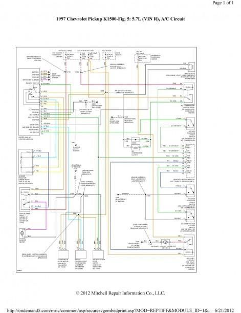 2003 Silverado Ac Diagram