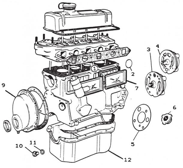 Car Parts Diagram