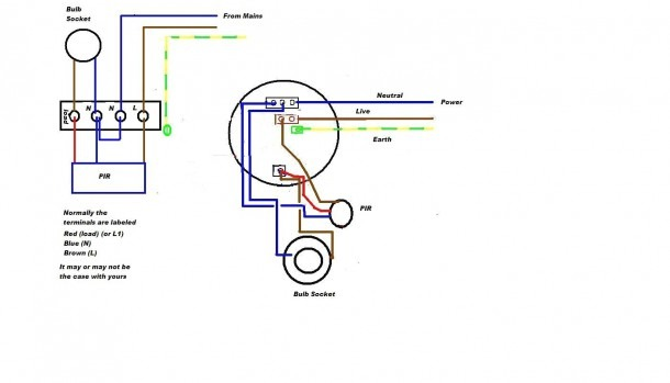 Honeywell Motion Sensor Wiring Diagram