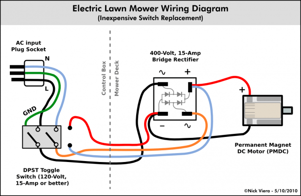 Motor Wiring Connection
