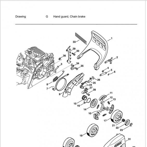 Stihl Ms 211 Parts Diagram