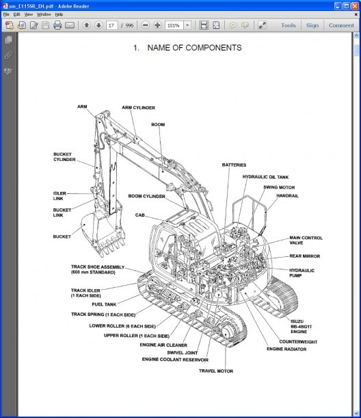 New Holland Tractor Parts Diagram