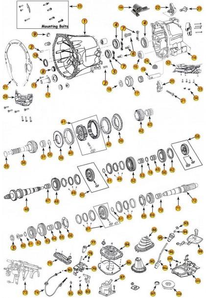 Jeep Transmission Diagram