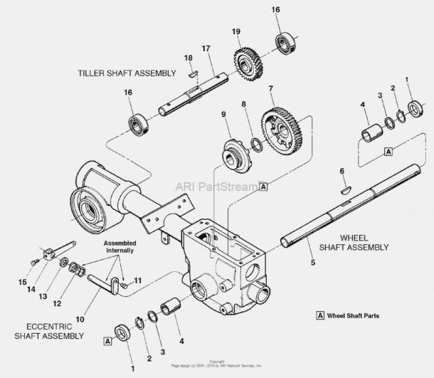 mantis tiller parts diagram