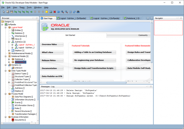 Download Oracle Sql Developer Data Modeler 18 4 0 339 Build 339 1532