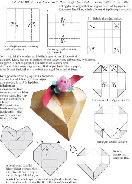 Origami Valentine