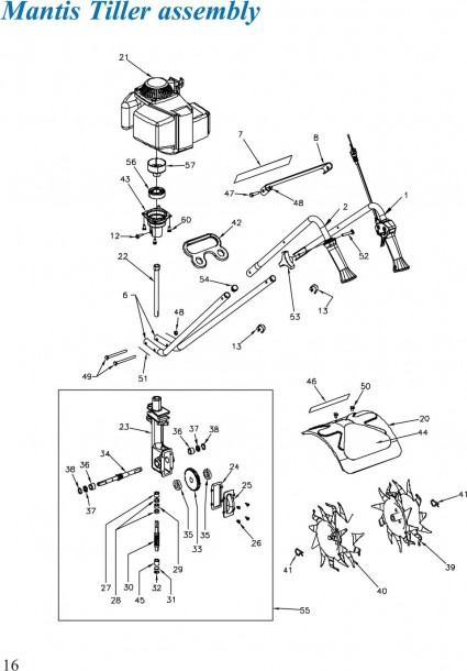 Mantis Tiller Wiring Diagram