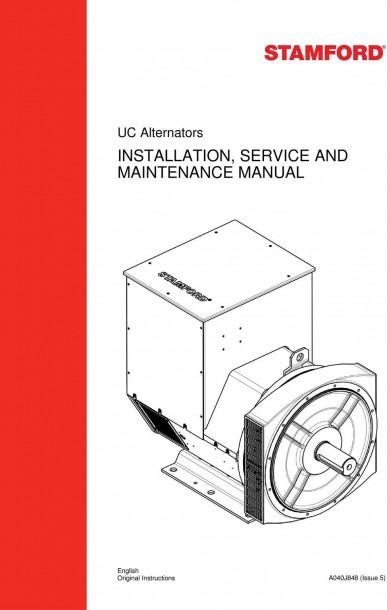 Installation, Service And Maintenance Manual