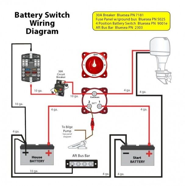 Perko Battery Switch Wiring Diagram Fresh Marine Dual 1 With
