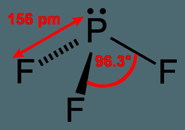 Lewis Diagram Pf3