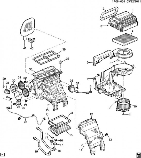 Ford E350 Parts Diagram
