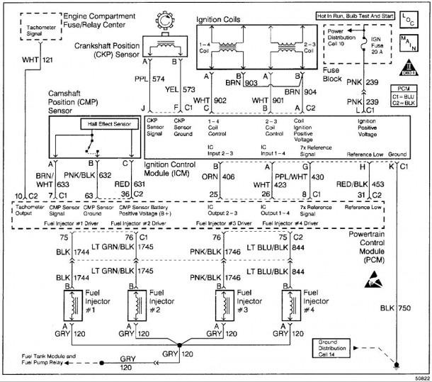 2004 Pontiac Grand Am Engine Diagram