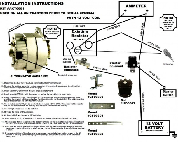 1947 Ford 8n Tractor Wiring Diagram