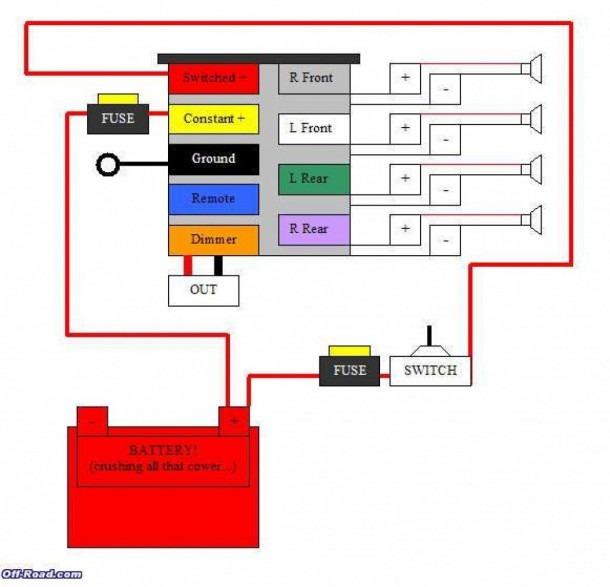 Pioneer Dxt 2369ub Wiring Diagram Pioneer Stereo Wiring Diagram
