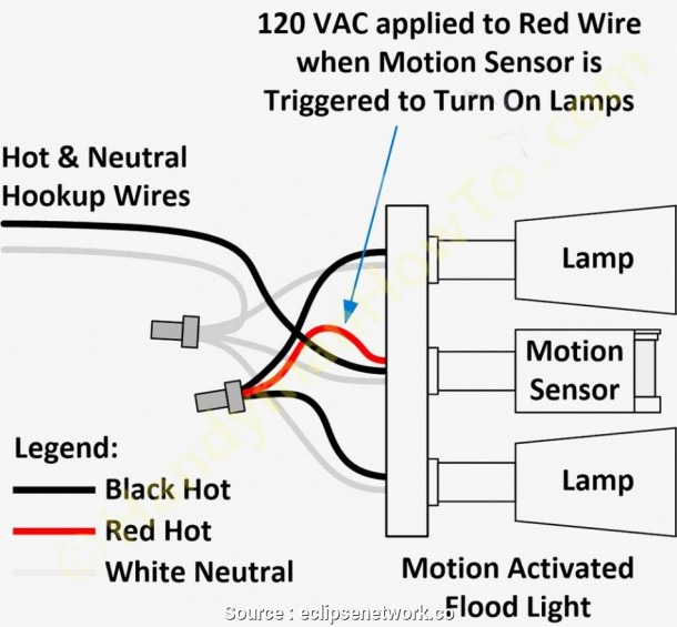 Wiring Diagram For Motion Lights