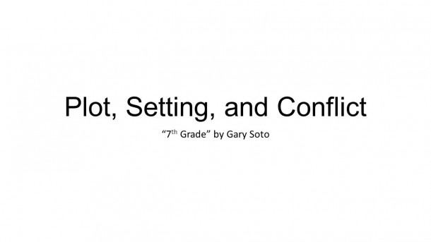 Plot, Setting, And Conflict