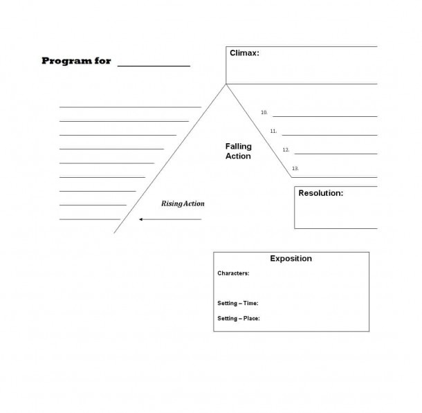 45 Professional Plot Diagram Templates (plot Pyramid) ᐅ Template Lab