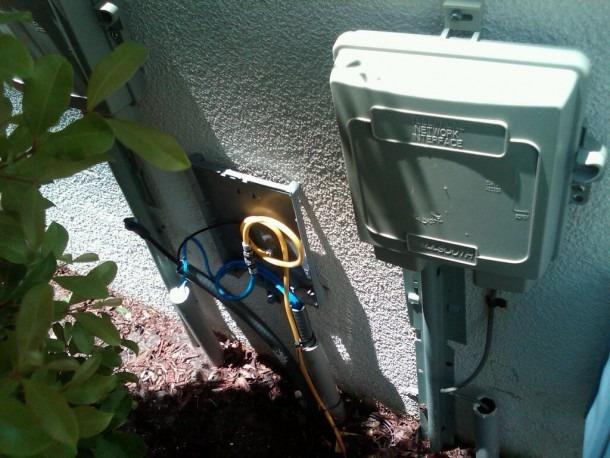 Cable Box Outside