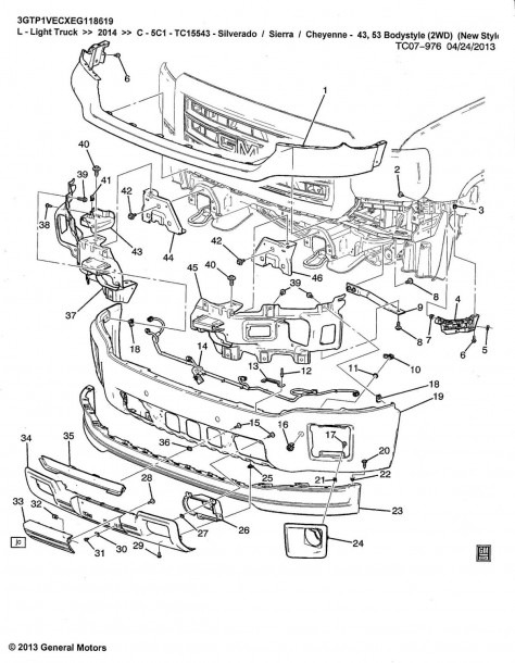 2014+ Parts Diagrams   Service Manual