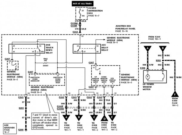 2006 Ford Mustang Fuel Pump Wiring Diagram
