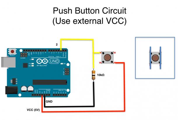 Push Button Wiring Diagram