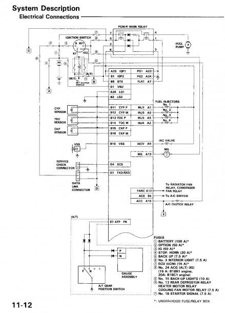 1996 Honda Accord Ignition Wiring Diagram