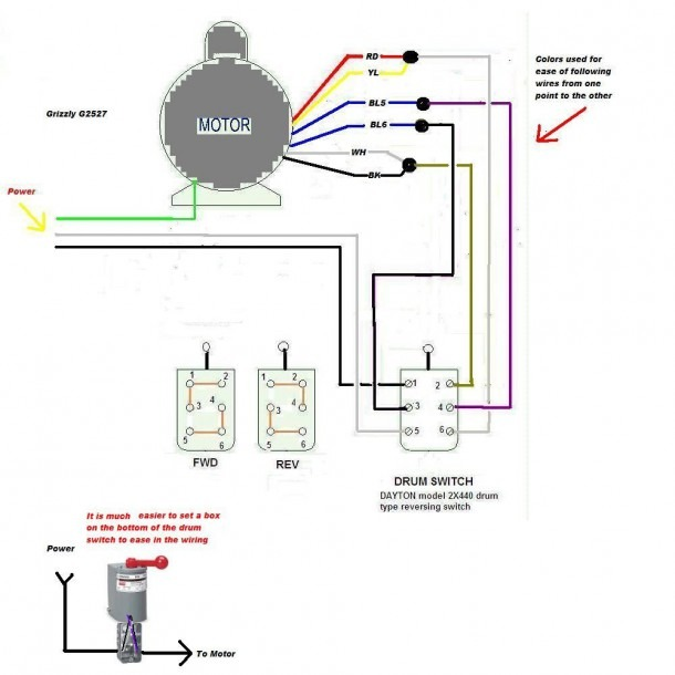 A Drum Switch Wiring Schematic