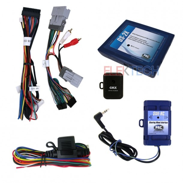 Radio Replacement & Steering Wheel Interface For Gm Vehicles With