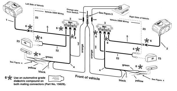 Curtis Snow Plow Wiring Harness 2000