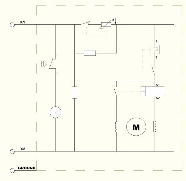 Simple Schematic Wiring Diagram