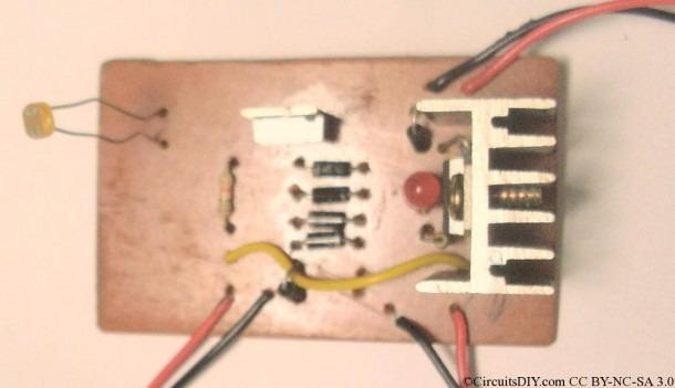 Solar To 6v Batt To Led Emergency Light Circuit – Circuits Diy