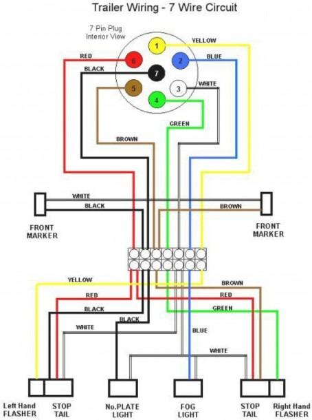 Tractor Trailer Wire Diagram
