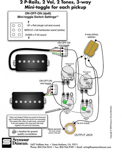 2 Pickup Wiring Diagram