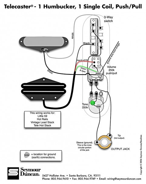 Wiring Diagram Hsh On Seymour Duncan Single Coil Pickup Wiring  U2013 Best Diagram Collection