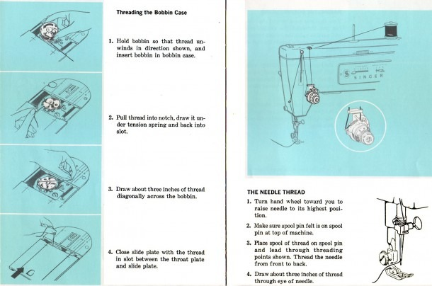 Singer Sewing Machine Instructions Choice Image