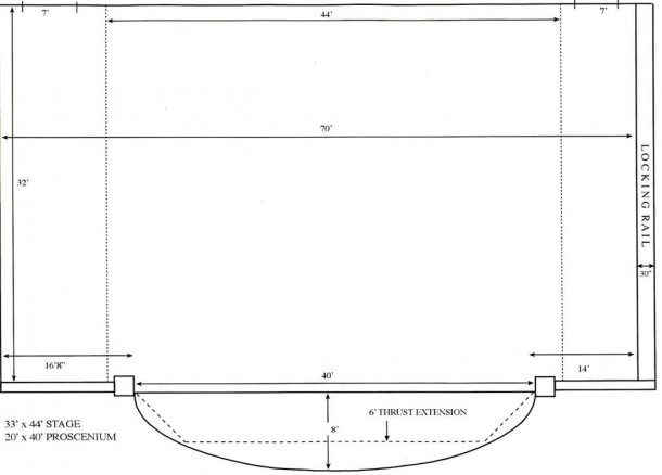 3 Stage Drawing Proscenium Stage For Free Download On Ayoqq Org