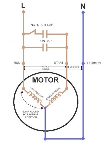 Ceiling Fan Winding Diagram Pdf