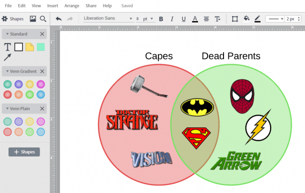 How To Create A Venn Diagram In Powerpoint