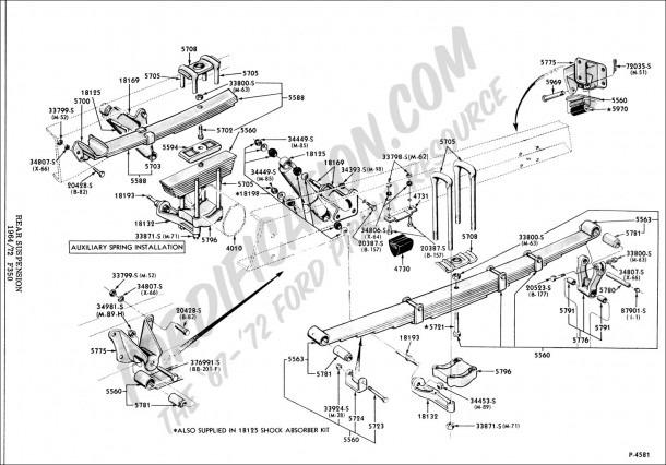 Ford E 350 Rear Door Parts Diagram