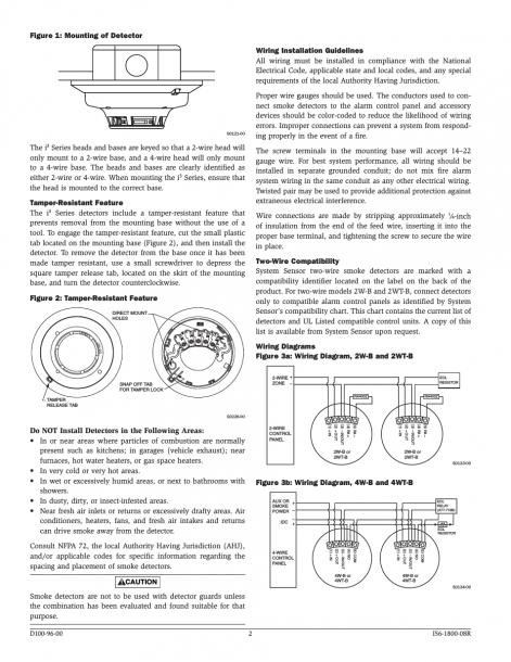 Simplex Smoke Detector Wiring Diagrams Duct Smoke Detector Volt