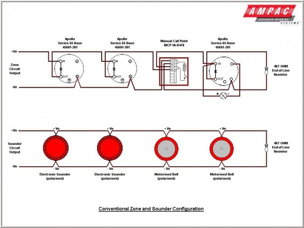 Smoke Alarms In Series Wiring Diagram