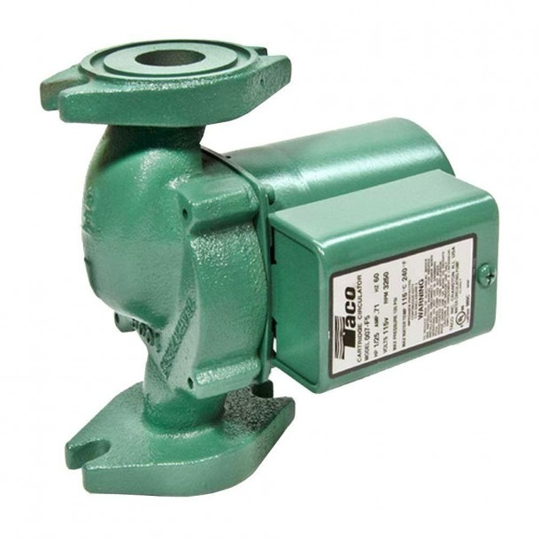 Taco Comfort Solutions 1 25 Hp Cast Iron Circulator Pump