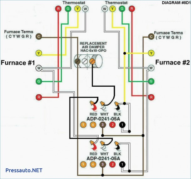 Residential Carrier Thermostat Wiring Diagram