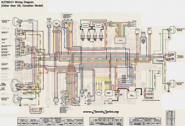 2001 Kawasaki Vulcan 800 Wiring Diagram