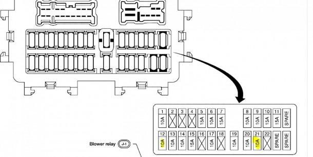 2013 Altima Fuse Box Diagram