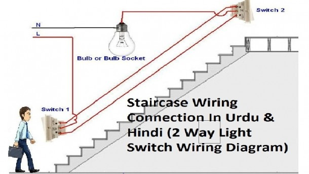 Electrical Wiring Diagram For 2 Way Switch