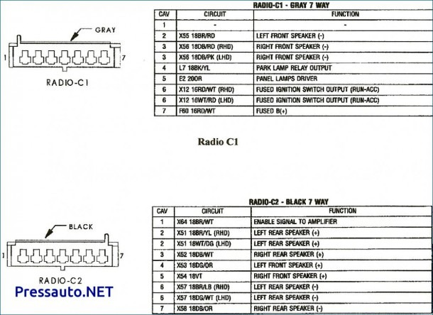 1994 Grand Cherokee Radio Wiring