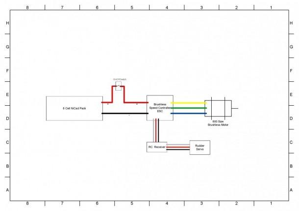 Rc Boat Parts Diagram