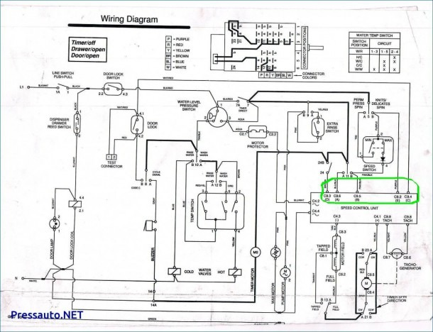 Whirlpool Dryer Motor Wiring Diagram Schematic